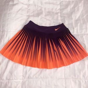 Nike Dri-Fit Fluorescent Pleated Skirt